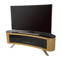 Buy AVF Bay Curved TV Stand for TVs up to from our TV Stands range at John Lewis & Partners. Curved Tv Stand, Curved Tvs, 70 Inch Tvs, Tv Entertainment Stand, Swivel Tv Stand, Box Tv, Tv Unit, Colour Schemes, Room Colors