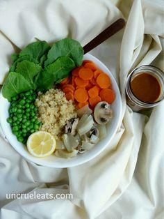 Quinoa Bowl | UnCruel Eats