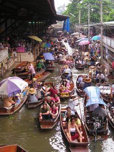Floating Market, Hua Hin, Thailand