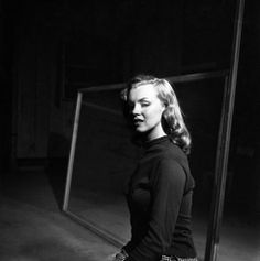 Not published in LIFE. Marilyn Monroe, age 22, Hollywood, 1949.