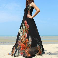M-4X Sommerblumenabschlußball -Kleid-Abend-Kleider von MyParadise auf DaWanda.com