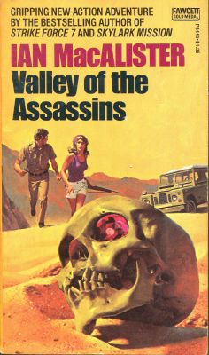 VALLEY OF THE ASSASSINS | pulp adventure mystery cover art vintage