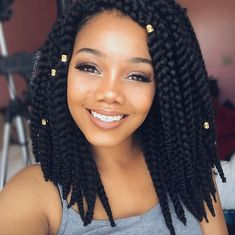 Lovely crochet braids @imadamejay - http://community.blackhairinformation.com/hairstyle-gallery/braids-twists/lovely-crochet-braids-imadamejay/