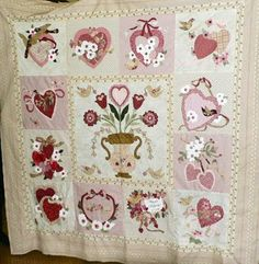 vintage valentine quilt pattern