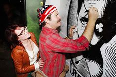 24 Reasons Why Nick Offerman And Megan Mullally Are The Most Hilarious Couple In Hollywood Great Love Stories, Love Story, Nick Offerman, Sundance Film Festival, Parks N Rec, Best Couple, Bored Panda, In Hollywood, Marriage