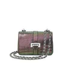 29e5af529a6d Micro Lottie Bag in Iridescent Lizard from Aspinal of London London Bags