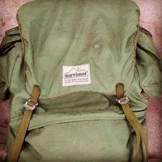 #vintage @karrimor Tote'Em Senior H-Frame rucksack #ausbushcraft #oldschool…