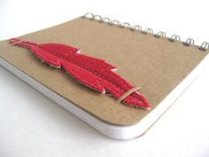 Travel Sketchbook Feather Bookmark  Eco Art by thenaturewalk, $17.00