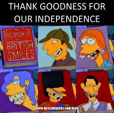 British Smiles Big Book Dentist Simpsons Blog Dental Blog http://www.baselinedental.com/blog #Dentist #Dental #Dentistry #Simpsons #Blog #Funny #Meme