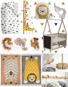 Toddler Room Decor, Kids Room, Baby Bed Bench, Jungle Room, Parents Room, Bedding Inspiration, Baby Girl Bedding, Safari Nursery, Baby Pillows