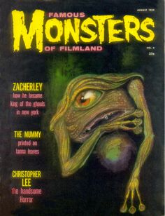Famous Monsters Of Filmland Covers