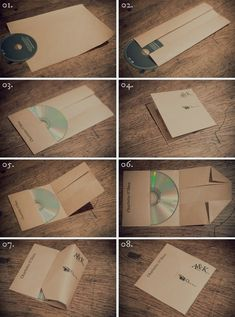 diy cd cover