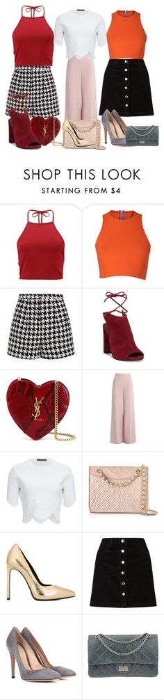 """""""in other words"""" by misvivi ❤ liked on Polyvore featuring Boohoo, Sydney-Davies, Emma Cook, Kenneth Cole, Yves Saint Laurent, Zimmermann, Alexander McQueen, Tory Burch, Miss Selfridge and Gianvito Rossi"""
