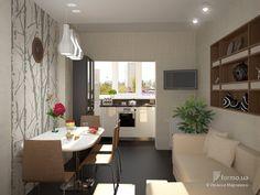 Кухня на балконе <3
