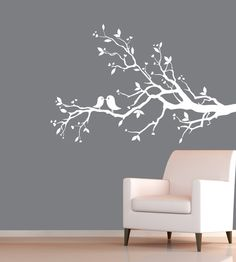 How fun would this be in a bedroom or nursery?