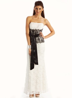 contrasting lace strapless formal $108.99 @Cindy Wira!!!!