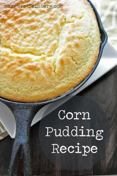 Delicious Corn Pudding Recipe