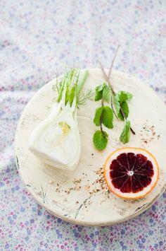 Blood Orange & Fennel Salad — r e c i p e b ♥ x