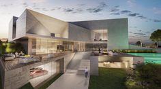 #villa #facade #luxe #creato #amazing #contemporary #garage