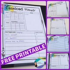 Free printable to organize what resources you need from TPT for your speech therapy caseload