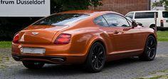 Bentley Continental Supersports – Heckansicht, 18. Juli 2012, Düsseldorf - Bentley Continental GT – Wikipedia