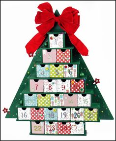 Christmas Tree Advent - Scrapbook.com