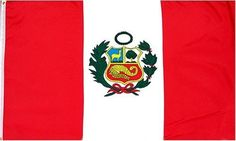 "Peru National Flag 3 x 5 NEW 3x5 Large Peruvian Banner by Country Flags ""O--R"". $4.85. 2 Metal Grommets For Eash Mounting with Canvas Hem for long lasting strength. 3 Foot by 5 Foot, Indoor-Outdoor, Lightweight Polyester Flag with Sharp Vivd Colors. Express Domestic Shipping is OVERNITE 98% of the time, otherwise 2-day.. FAST SHIPPER: Ships in 1 Business Day; usually the Same Day if pmnt clears by noon CST. Express International Shipping is Global Express Mail (2-3 ..."