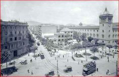 Carrer Aribau a Barcelona als anys 20