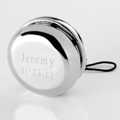 Just posted on our store: Personalized Silv... Check it out here: http://garrysdiscountgoods.com/products/personalized-silver-yo-yo?utm_campaign=social_autopilot&utm_source=pin&utm_medium=pin