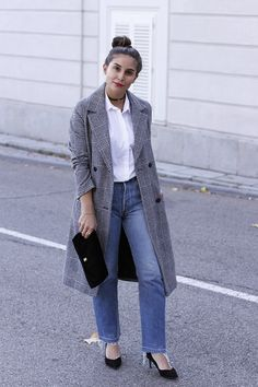 Abrigo gris easy wear