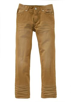 Produkttyp , Jeans, |Qualitätshinweise , Hautfreundlich Schadstoffgeprüft, |Materialzusammensetzung , Obermaterial: 100% Baumwolle, |Material , Baumwolle, Twill, |Farbe , Camelfarben, |Passform , Basic-Form, |Beinform , gerade, |Beinlänge , lang, |Leibhöhe , normal, |Bund + Verschluss , Druckknopf bis Gr. 134, verstellbarer Innen-Gummizug, |Taschenanzahl , 4, |Vorder- und Seitentaschen , Eingri...