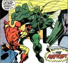 Iron Man VS the Super Adaptoid