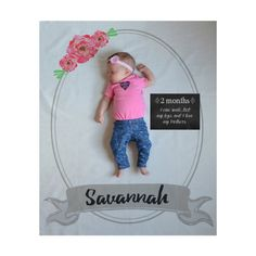 Personalized Welcome Backdrop Baby by PearlPearDesigns on Etsy