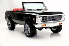 1972 Chevrolet Blazer.