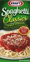 This stuff has been a lifetime family favorite. Now that we're eating clean, I need a way to make it on my own - I don't want to go without! Kraft Tangy Italian Spaghetti Classics Herb Blend