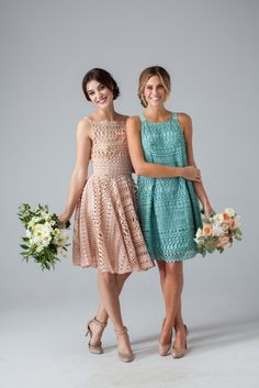 These Are the Bridesmaid Dresses You've Been Searching for (Literally) via Brit + Co.