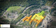 Campus de l'hôpital Royal Victoria par DMA architectes, Montréal, Québec. Image : DMA architectes. Source : Université McGill.