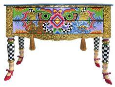Tom's Company leg, painted furniture, paint furnitur, funki furnitur