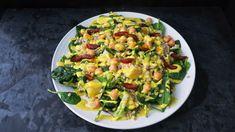 Tahini Dressing, Chickpea Salad, Garam Masala, Meatless Monday, Food Inspiration, Pasta Salad, Vegan Vegetarian, Risotto, Food To Make
