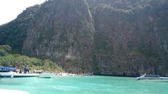 "Maya Bay, ""The beach"" - Koh Phi Phi Ley - Thailand  https://youtu.be/3iiiB5_UUh4"