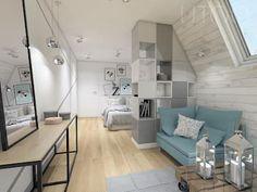 Attic Bedrooms, Small Room Bedroom, Room Decor Bedroom, Girls Bedroom, Teen Girl Rooms, Teenage Room, Interior Architecture, Interior Design, Loft Interiors