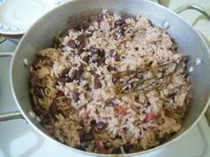 Jamaican Recipes - Rice and Peas - Traditional Jamaican Food | Sweet Jamaica