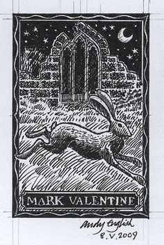 Andy English: The Story Of A Bookplate
