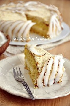 Today March 13 is Coconut Torte day! How are you going to celebrate? Delicious Cake Recipes, Yummy Cakes, Great Recipes, Dessert Recipes, Desserts, Food Cakes, Dinner Menu, Fondant Cakes, Lunches And Dinners