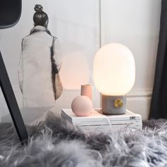 The Menu JWDA Concrete Lamp Designed By Swedish Designer Jonas Wagell For  MENU. This Beautiful Lamp Mixes The Delicate Glass, Concrete And A Brass  Switch.