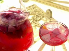 I love Sangria - Non-Alcoholic Sangria that is. This one is from FoodNetwork.com and looks wonderful!