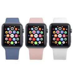 Apple Watch Sizes, Apple Watch 42mm, Apple Watch Series 2, Apple Watch Bands, Black Apple, Pink Sand, Series 4, Mint Green, Burgundy