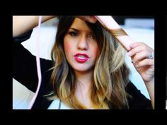 How to: Messy beachy every day wave with a flat iron. - YouTube