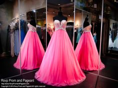 Pink Ball Gown-Beaded Sweetheart Bodice-116BP055060