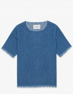 Our Legacy - Weave T-shirt Indigo